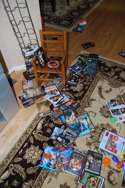 DVD Mess