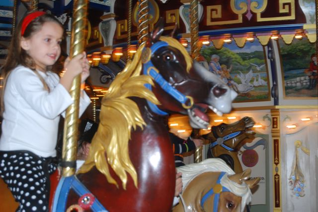 Kameran on the Carousel