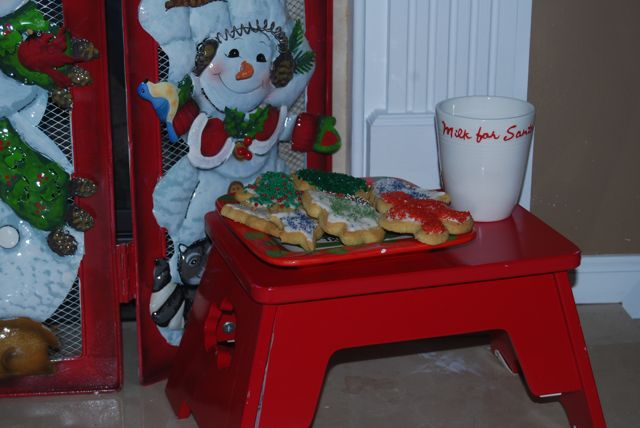 Cookies ready for Santa