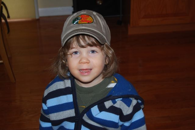 Adam and Bass Pro Hat