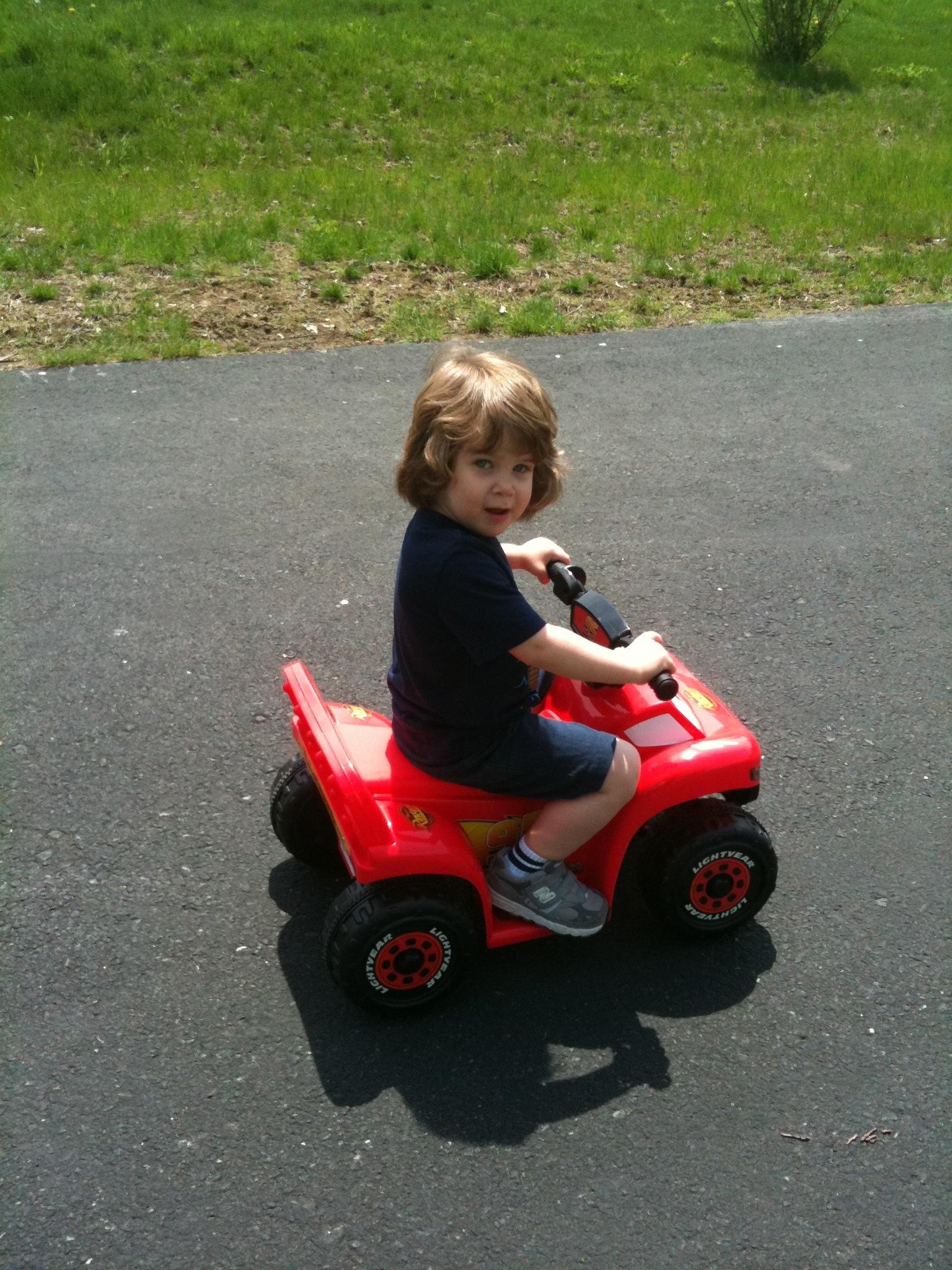 Adam 4-Wheeling