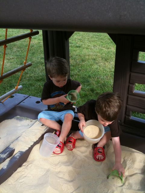 Playing in the Sandbox 2