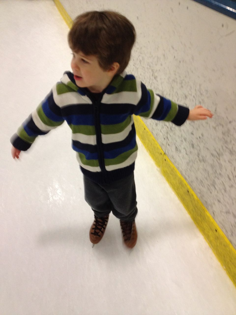 Adam on ice