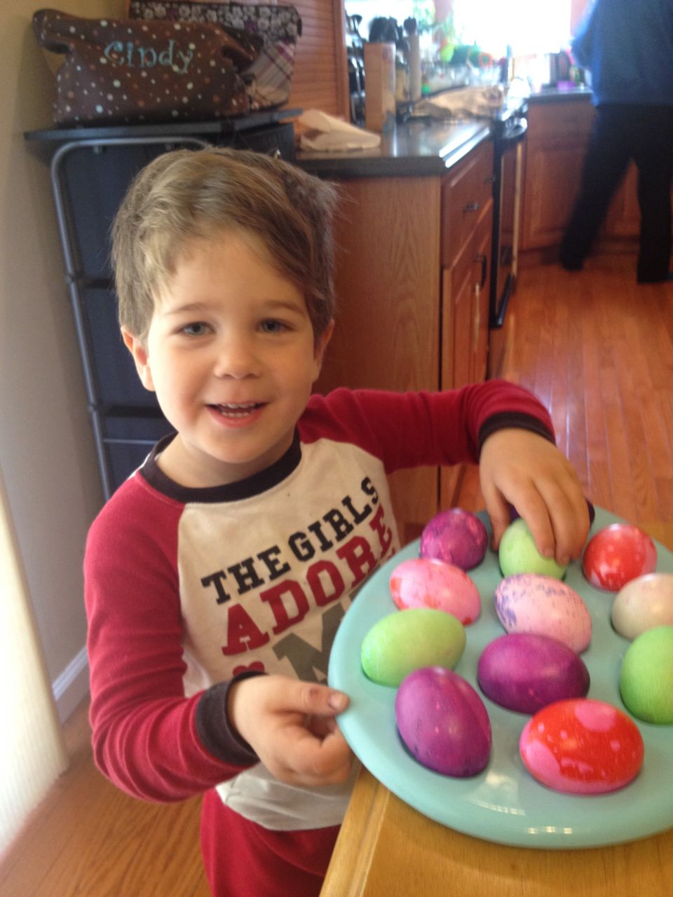 Adam's Easter Eggs