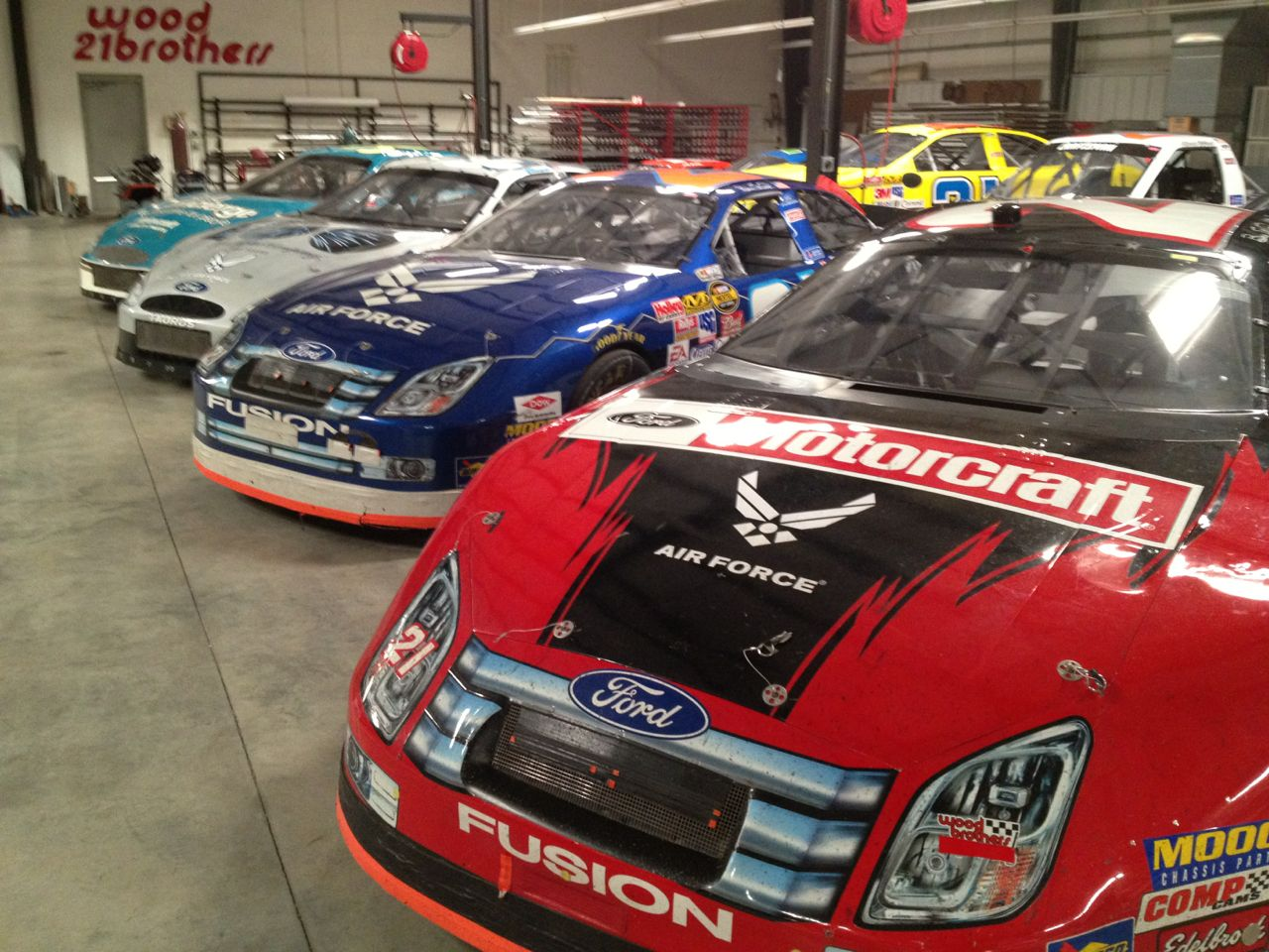 Wood Brothers Cars