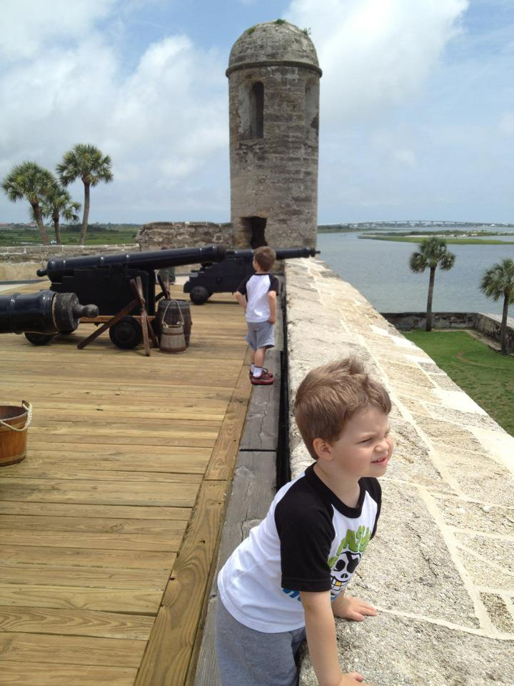 At the Old Fort