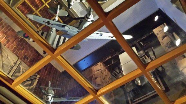 Aviator Bar Window