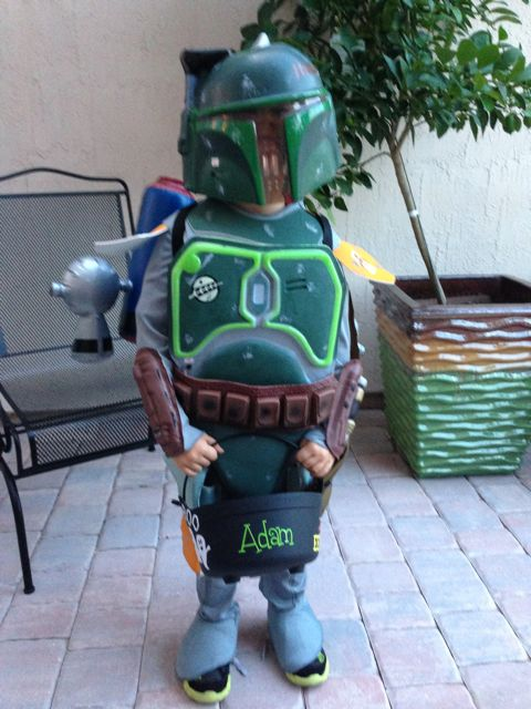 Boba is ready