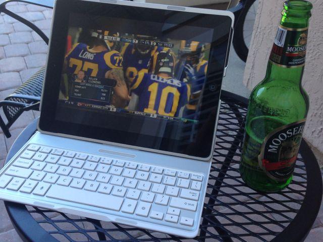 Football on the iPad