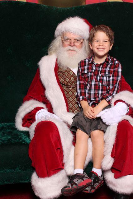Santa and Adam