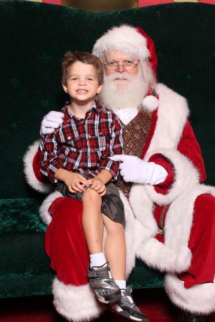 Santa and Alex