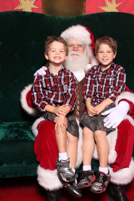 Santa and the Boys