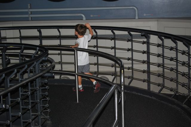 Adam at Star Tours
