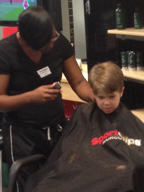 Adam at Sportclips
