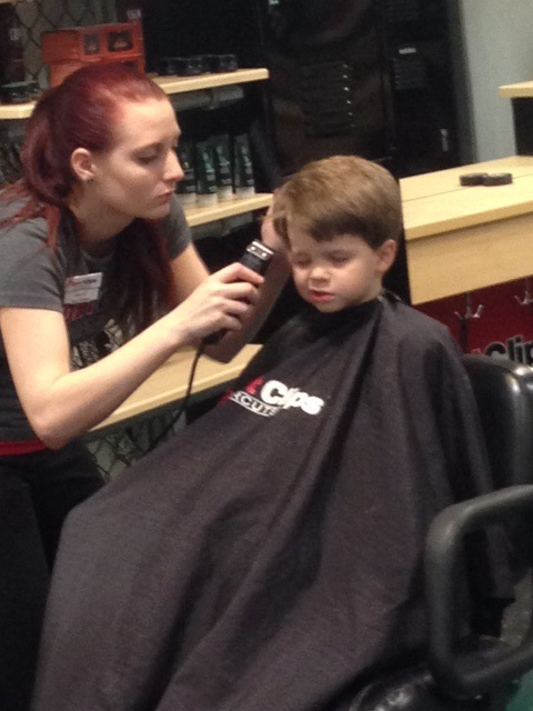Alex at Sportclips