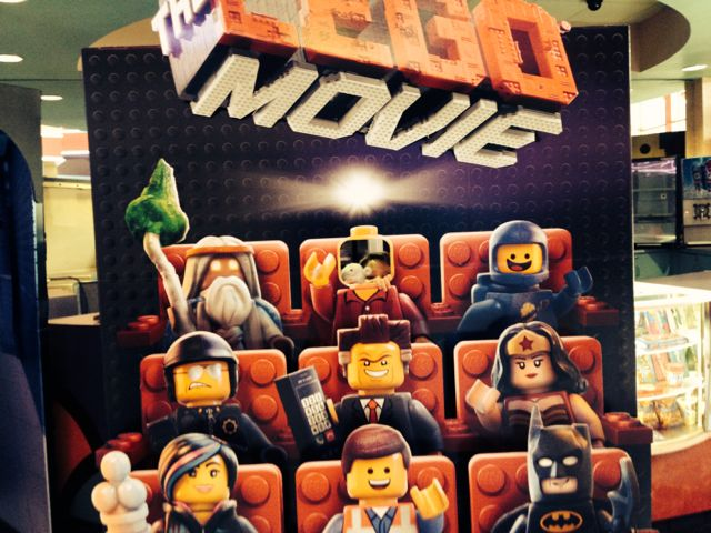 Lego Movie Cutout