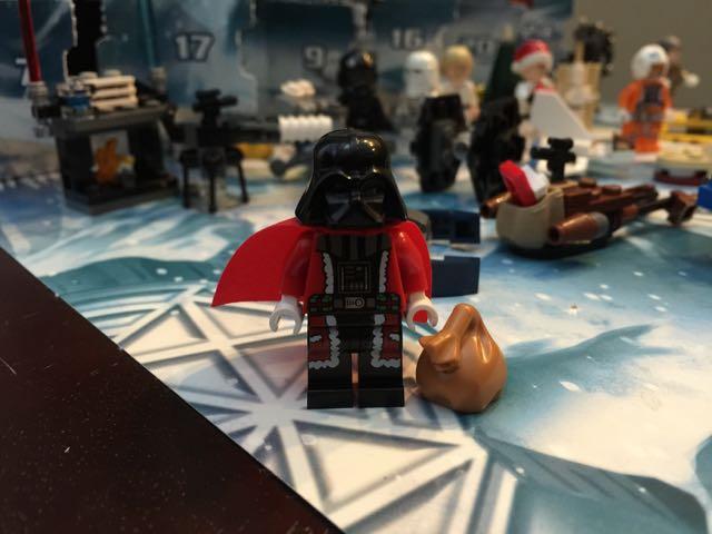 Darth Vader Santa