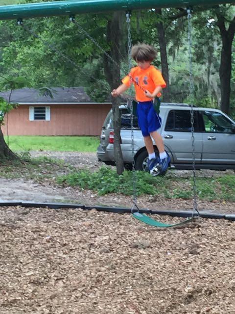 Alex swings