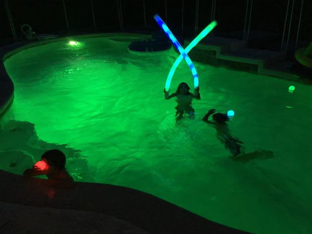 Pool Glow