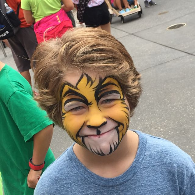 Adam Face Paint