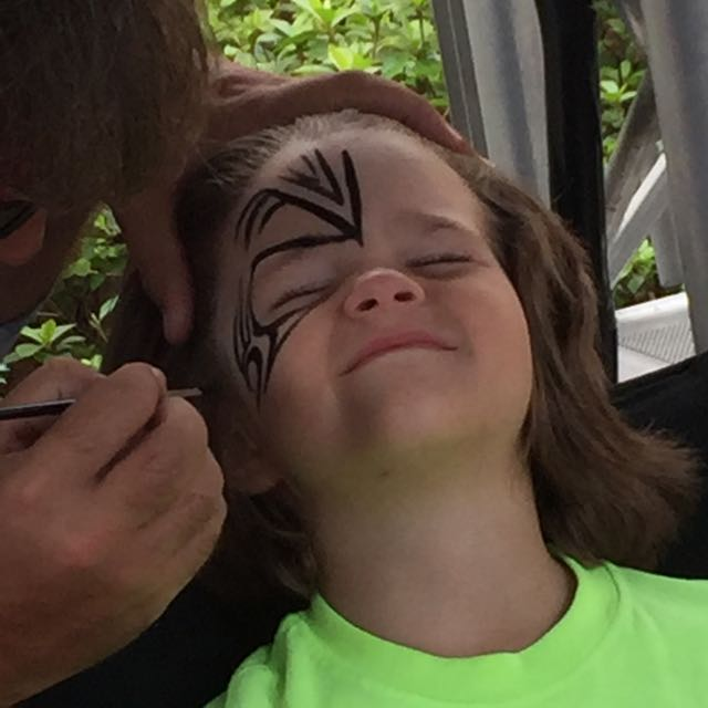 Alex Face Paint