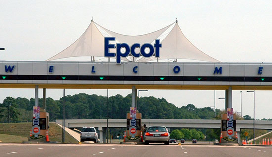 Epcot Entrance