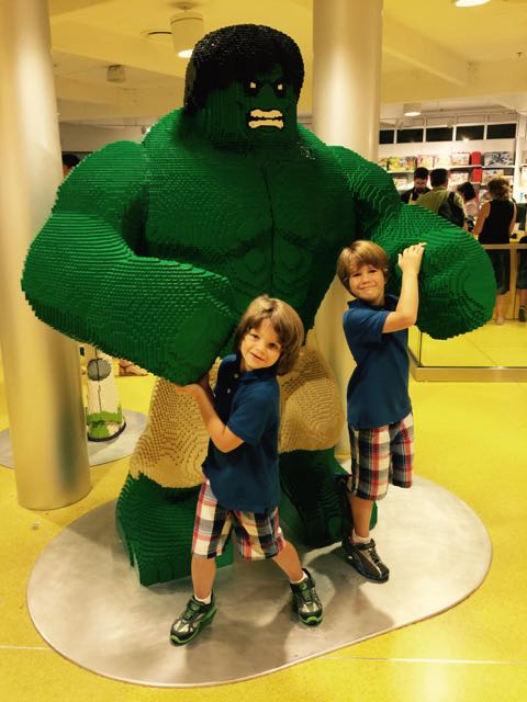 Hulk at The Lego Store