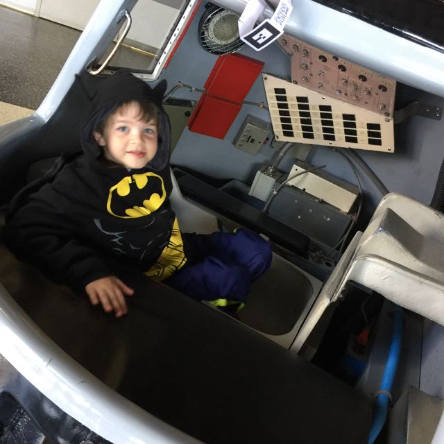 Alex in the Capsule