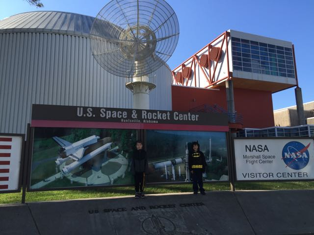 Entrance to Rocket Center