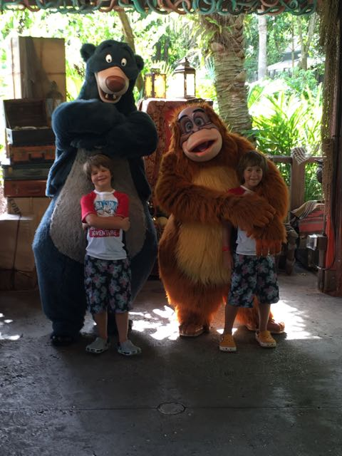 Baloo and Louie