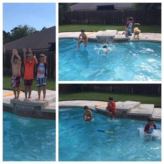 Pool is Still Open