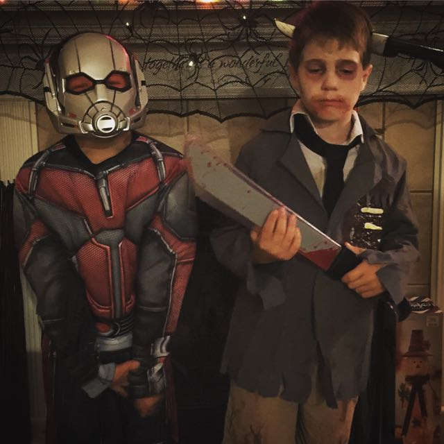 Ant Man meets the Zombie