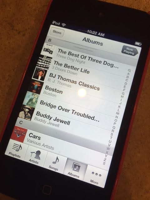 Adam's iPod