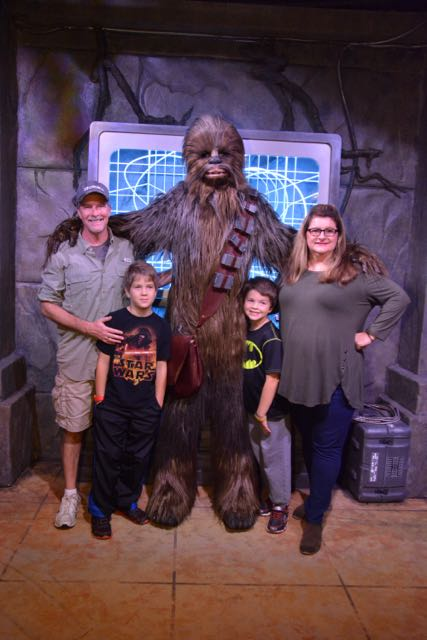 Chewy and the Family