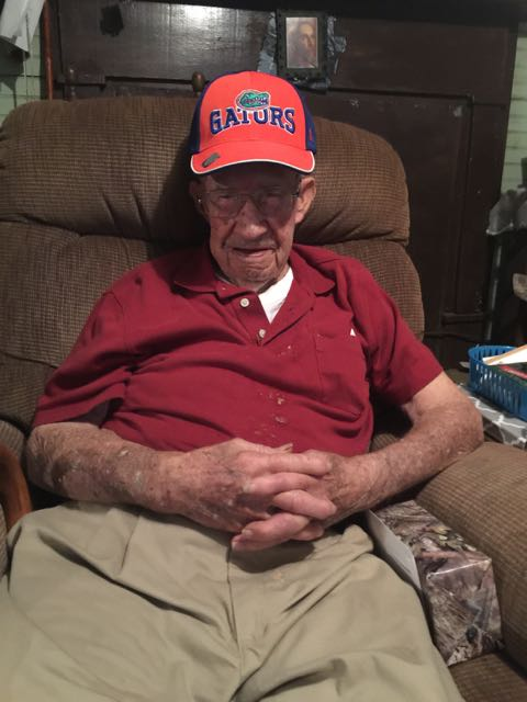 Pa with his Gator hat