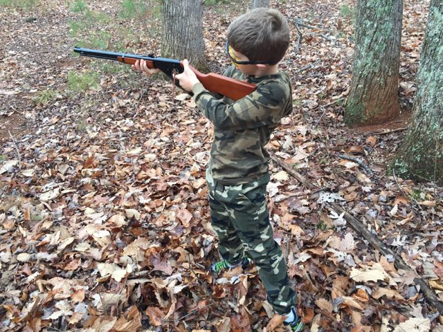 Shooting the Red Ryder