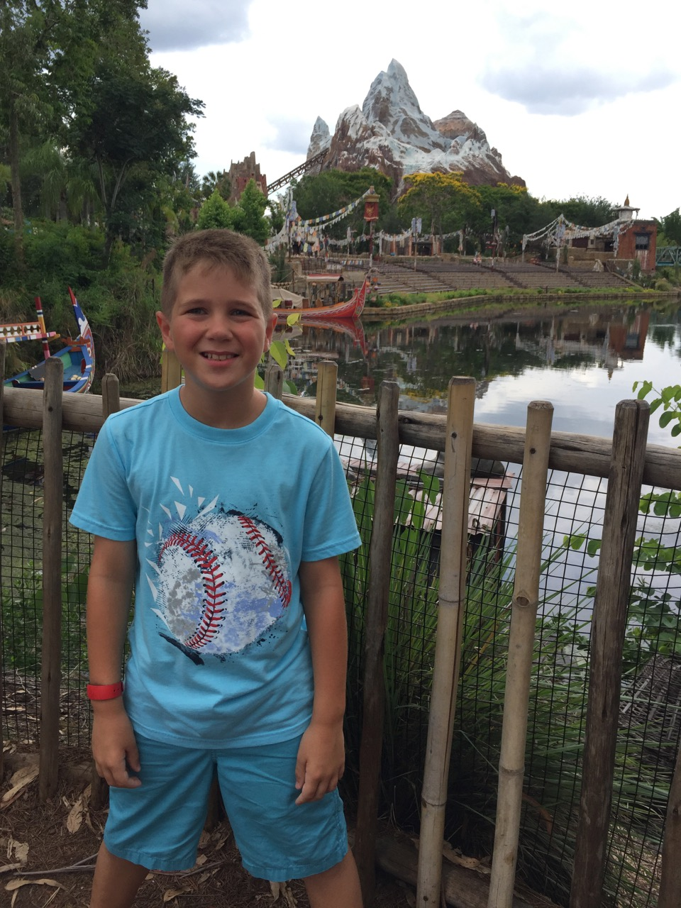 Adam at Expedition Everest