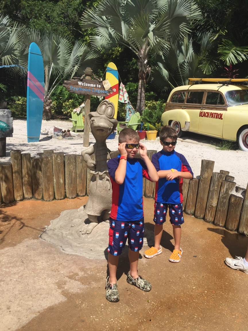 Entering Typhoon Lagoon