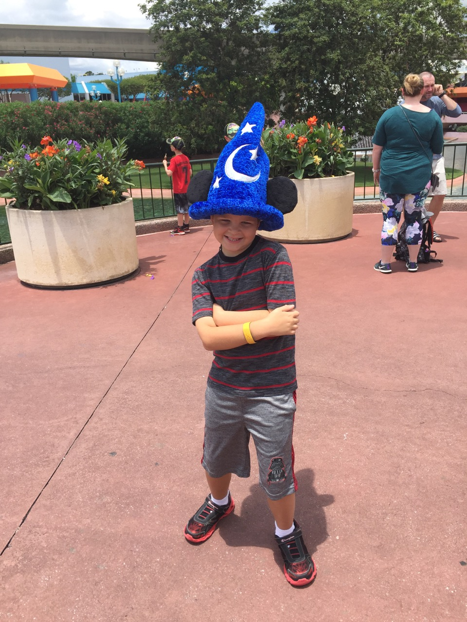 Alex at EPCOT