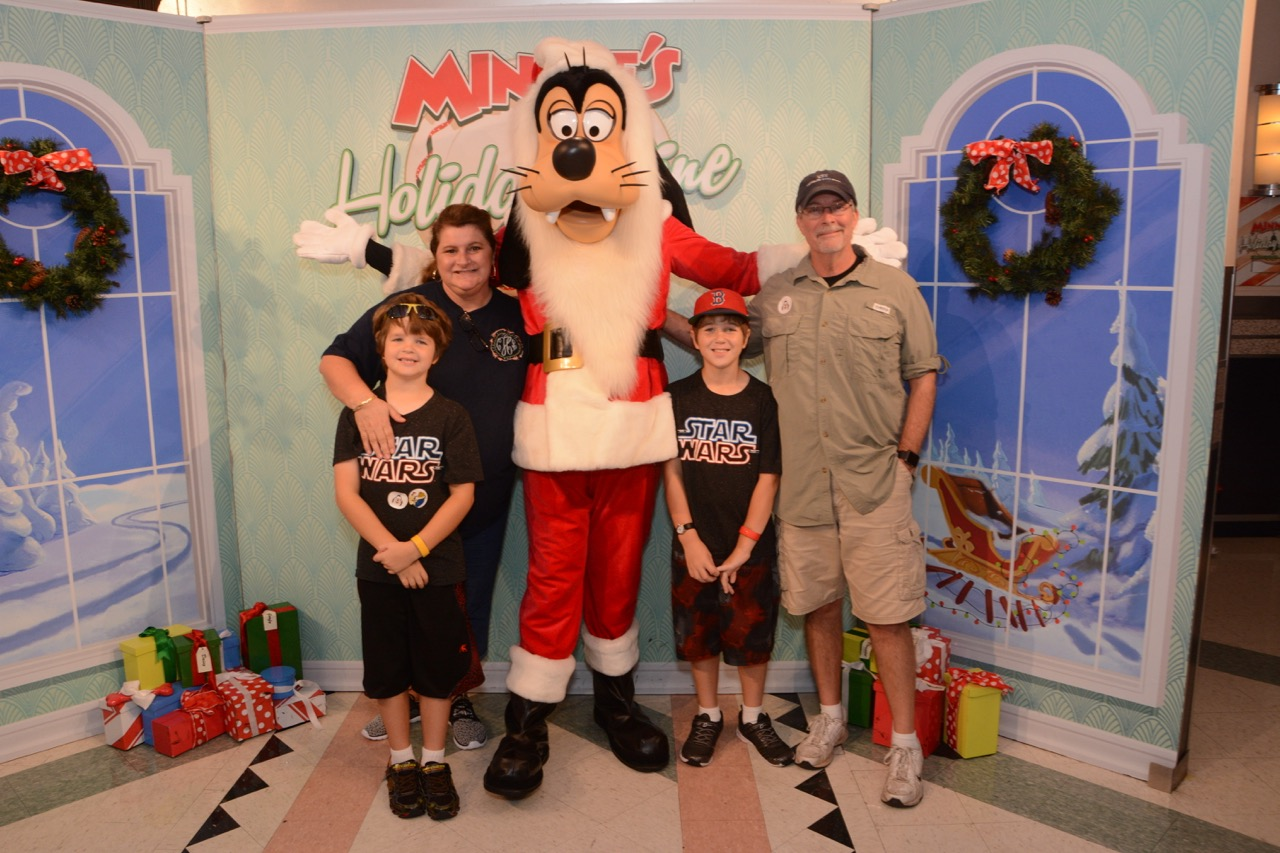 Family and Goofy