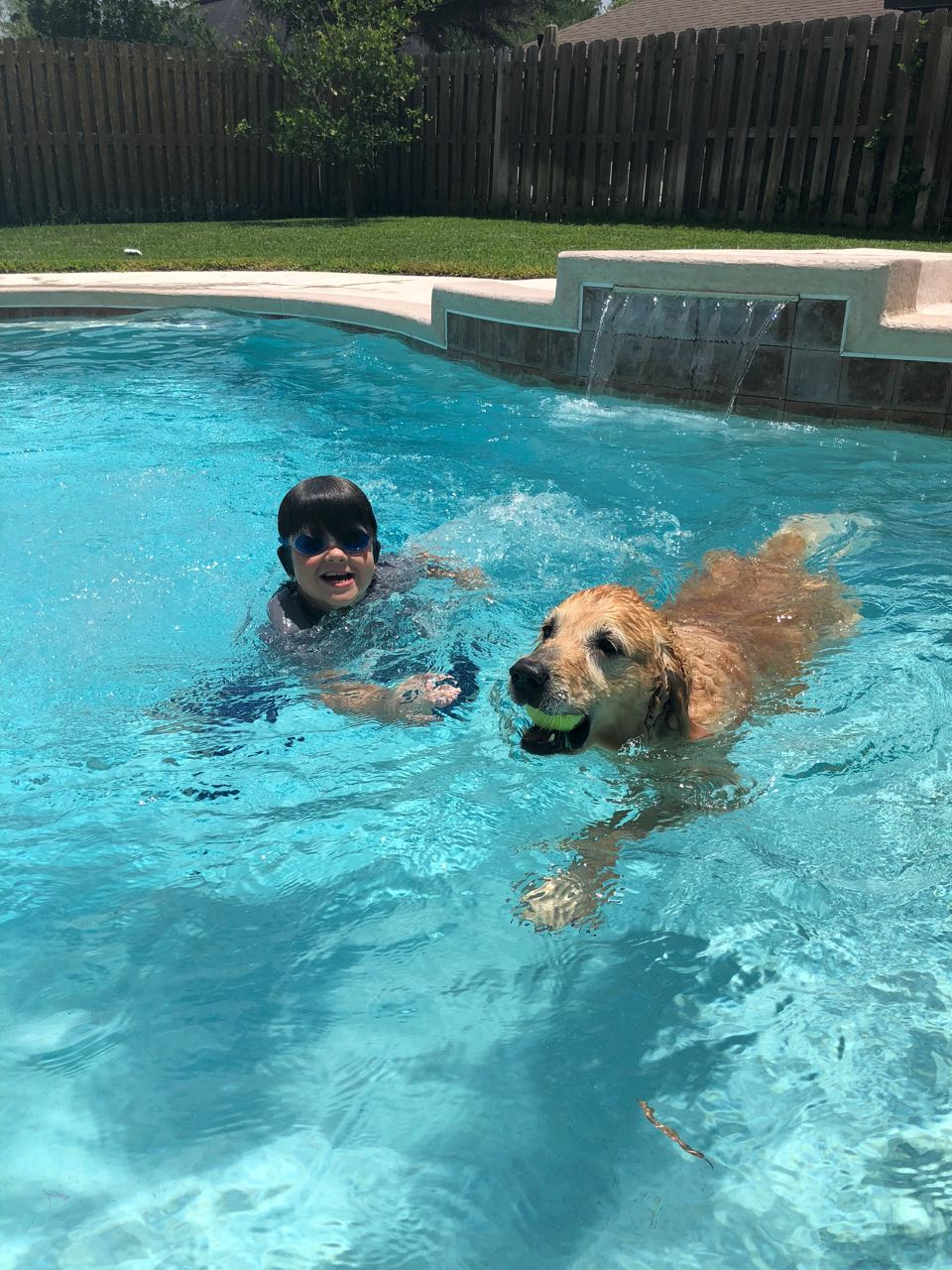 Charlie in the Pool