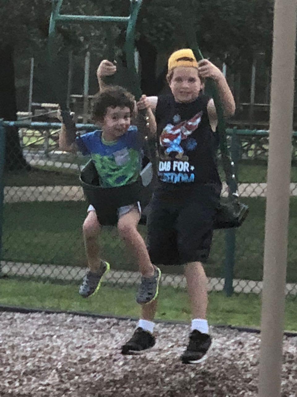 Alex and Carter Swing