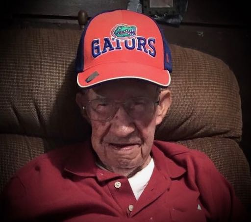 Pa and the Gator hat
